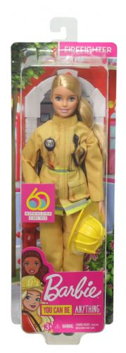 Barbie Career 60th Doll Firefighter